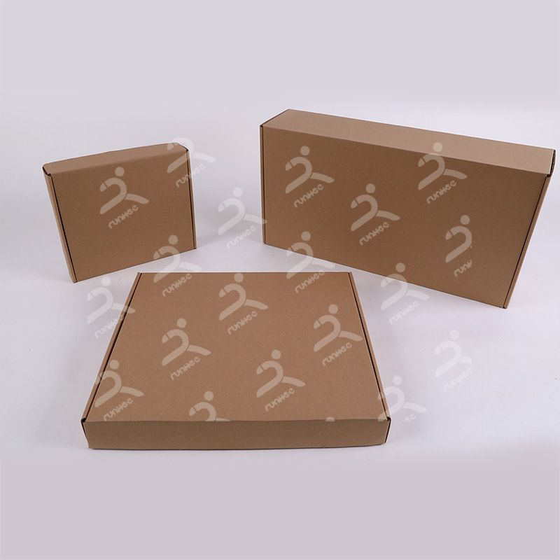 Runhee folding boxes, 100% made from recycled materials