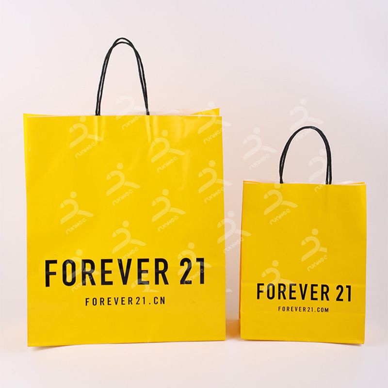 Runhee paper bags, paper bags for clothes